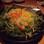 79341964 - 大根水菜サラダ(2017年12月)