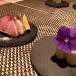 kiwa - アボカドと寒鰤炙り