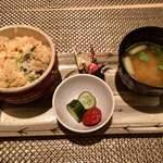kiwa - 牡蠣と芹の醍醐焼き飯