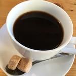柏ノ木 - Cランチセット ホットコーヒー