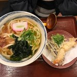 杵屋 - 天ぷらうどん780円・大盛りサービス