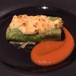 リストランティーノ イルチプレッソ - ほうれん草とリコッタチーズのラザニア