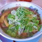 藤 - 焼豚ラーメン(900円)