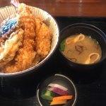 79345365 - 海鮮天丼!