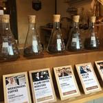 ドングリー コーヒースタンドと暮らしの道具店 - 5種類のコーヒー