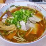 ラーメン大学 - 料理写真:チャーシューラーメン(730円)