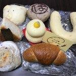 ぽこ・あ・ぽこ - 料理写真:今回買ったパン