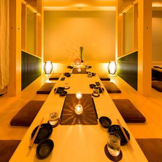 【各種宴会】カラオケ付完全個室(掘りごたつ・テーブル席)