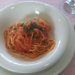 BUONO - 料理写真:ランチAコースのパスタ(アマトリチャーナ)