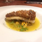 IL CASINO - 料理写真:甘鯛の鱗焼き モンサンミッシェル産ムール貝のスープ仕立て