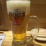 楠木フサヱ - 生ビール