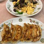 餃子の王将 - キクラゲと玉子の炒め