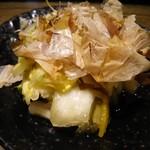 ゆうだん丸 - 自家製白菜漬け 180円