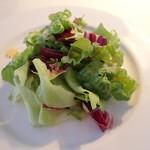 トレインレストラン日本食堂 - サラダ