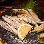 季魚旬酒 なぶら - 太刀魚のあぶり