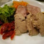 スペイン食堂 石井 - レバーパテとお肉のテリーヌ