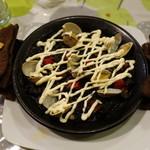 スペイン食堂 石井 - イカ墨のパエリア