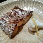 喰善 あべ - 太刀魚の焼き物 カリフラワー