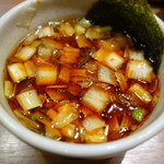 79355593 - 辛いつけ麺のつけ汁