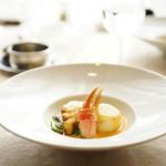 セル ドール - 料理写真:MENU A (¥2,750) 本日の料理 石川県産釣り鱈とズワイガニ ソース・アメリケーヌ