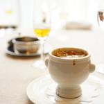セル ドール - MENU A (¥2,750) 本日のスープ