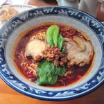 餃子菜館 万徳 - 担々麺