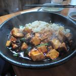 餃子菜館 万徳 - 麻婆炒飯