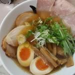 79358393 - 「特製秋刀魚だしらーめん(醤油)」(2018年1月13日)
