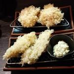 79360686 - 牡蠣フライ&真鱈の白子
