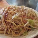 たるや鉄板焼 - 太麺