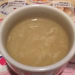 バーミヤン - ご飯セットのスープ(飲み放題)