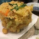 玄かつぎ - 料理写真:小柱入り海鮮かき揚げ