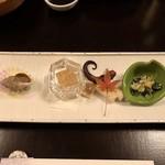 79363911 - 「前菜」冬の旬菜五種取合せ