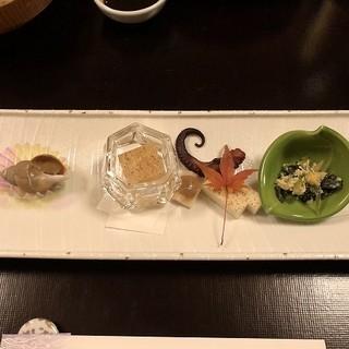 淡路夢泉景 - 料理写真:「前菜」冬の旬菜五種取合せ