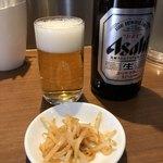 昌平ラーメン - アサヒスーパードライは販売数が減少してるみたいです。頑張れアサヒビール!因みに僕は一番搾りが好き❤️