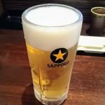 ひょっとこ - 生ビール