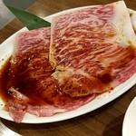 牛8 - とろ肉3秒炙り:1,390円