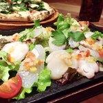 79366914 - 伊豆の鮮魚カルパッチョ 1,280円                       なんて色鮮やかで美味しそうなんでしょう〜♡