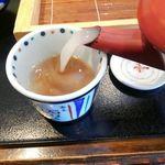 79366948 - 白濁した濃厚な蕎麦湯