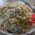 ますや食堂 - 肉チャーハン(大盛)  600円+70円