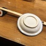 磯吉 - 箸置きが鉄火巻きです