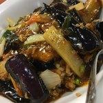 台湾料理 龍勝 - 麻婆ナス飯