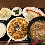麒麟食堂 - 料理写真:麻婆豆腐定食
