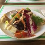 ア フェネステッラ - サラダと前菜の盛り合わせ