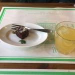 ア フェネステッラ - 相方のドリンクとドルチェ