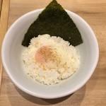 博多一風堂 - 温玉のせごはん(260円)