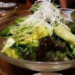 炭火焼と旬のおさかな 菜の花 - 菜の花サラダ
