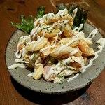 炭火焼と旬のおさかな 菜の花 - 自家製マカロニサラダ