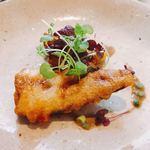 食堂セゾンドール - 真鰯と銀杏のベーニエ