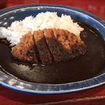 薩摩 茶美豚 とんかつ 花 - ロースカツカレー1188円(税込)